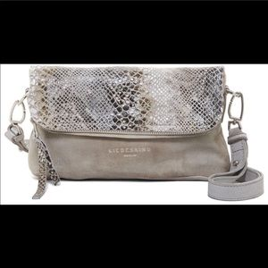 Liebeskind snake flap bag